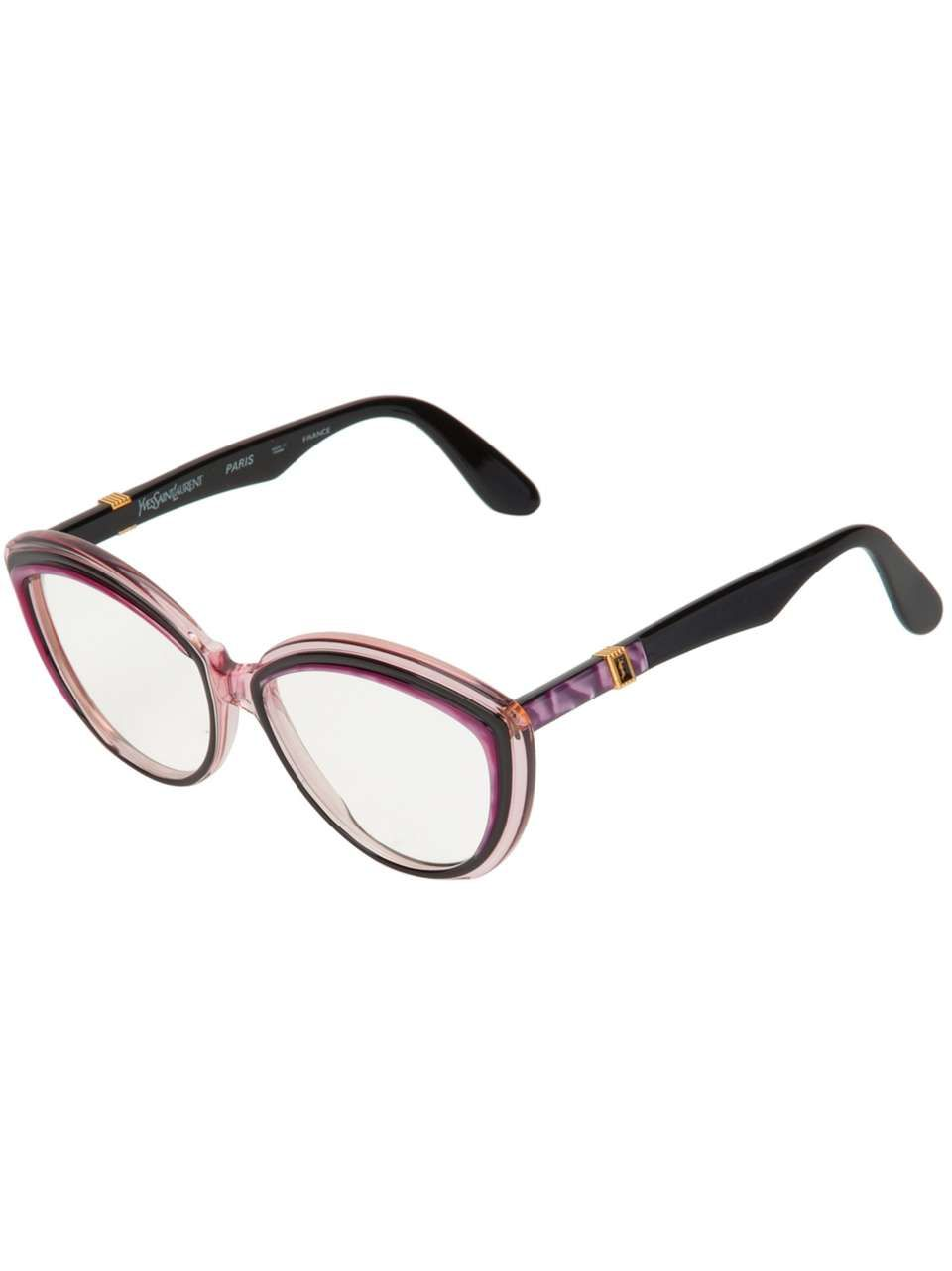 Yves Saint Laurent Vintage cat-eye optical glasses | Outfit ...