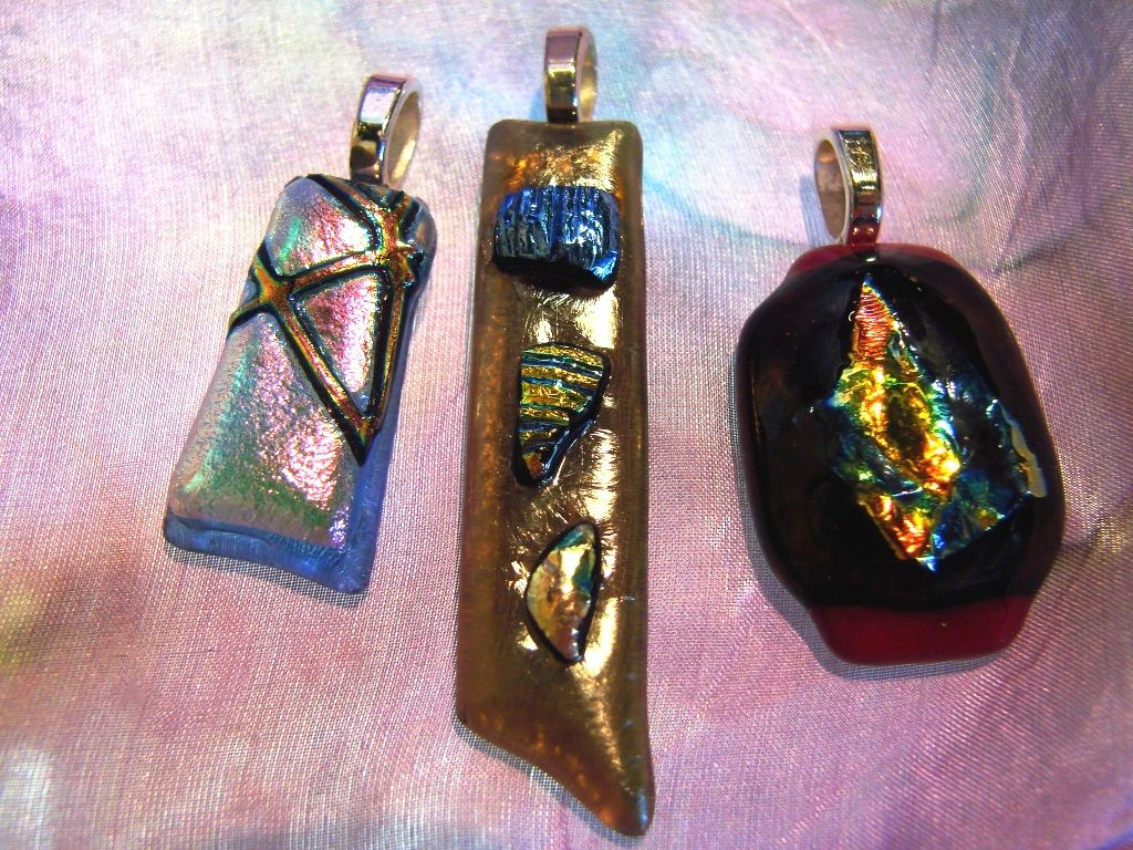 color pebble glass pendant lolas style art multi pendants fused us