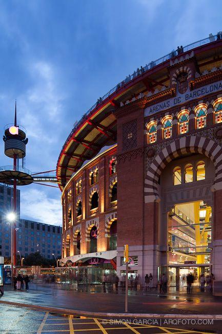 Centro Comercial Las Arenas Antigua Plaza De Toros Barcelona Las Arenas Barcelona Viajar Por España Barcelona Ciudad