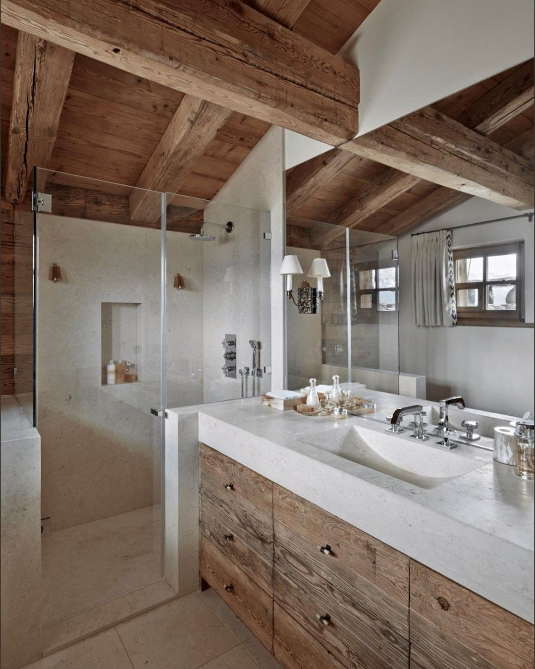Annewhiteinteriors Posted To Instagram Anne White Interiors Blog Inspiration Of The Week Swiss Cha House Bathroom Rustic Bathrooms Bathroom Interior Design