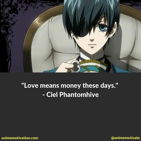The BIGGEST List Of Black Butler Quotes Online (With Images)