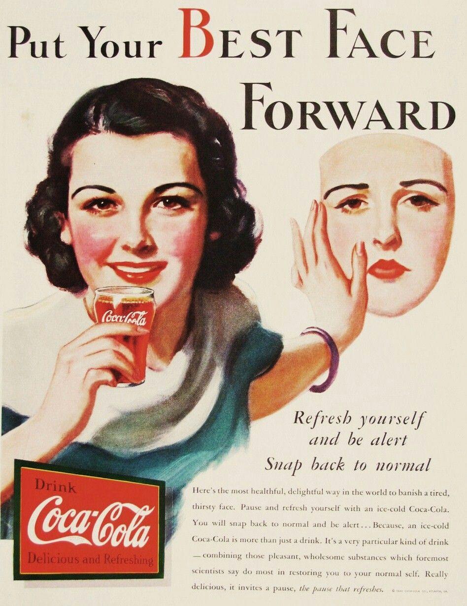 Publicidad Coca Cola Siente El Sabor Pin On The Real Thing