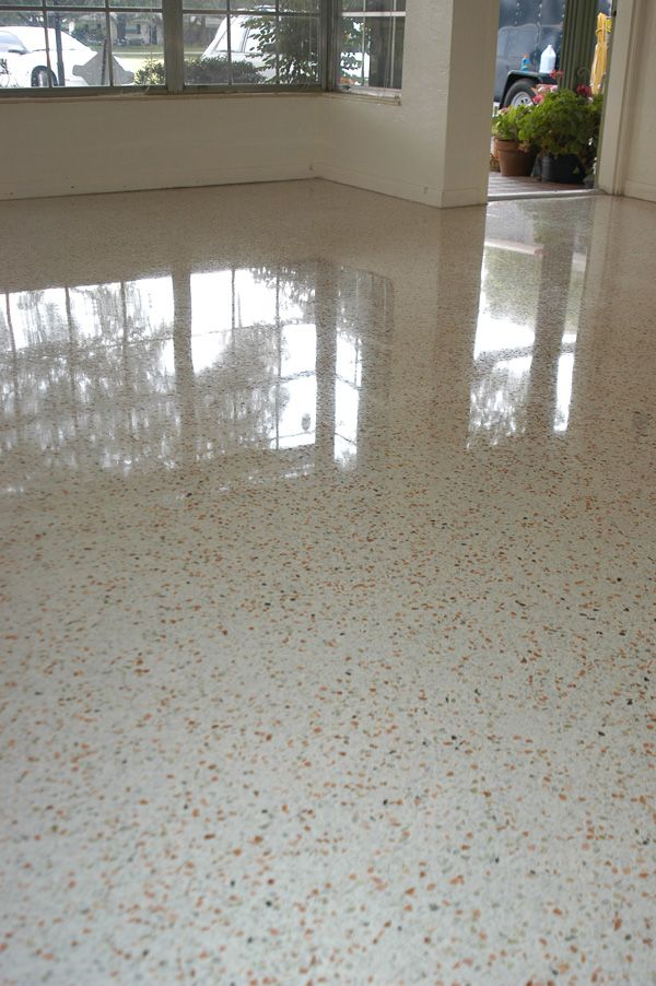 White Terrazzo Just Like This Is Underneath My Tile Ahhh
