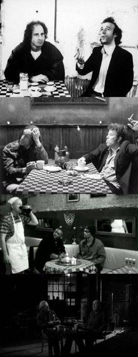 Coffee and Cigarettes, 2003 (dir. Jim Jarmusch) By asanisimasa