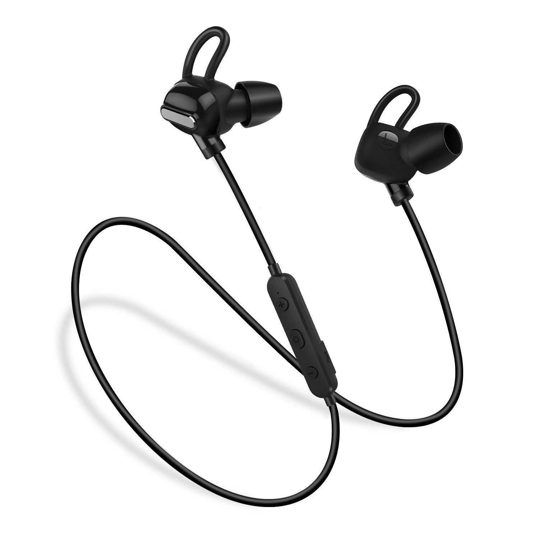 Superisparmio s Post Cuffie Sport Auricolari Bluetooth Techvilla Cuffie  Wireless Magnetiche Bluetooth 4.1 Stereo Resistenti al Sudore a1a6347a1d39