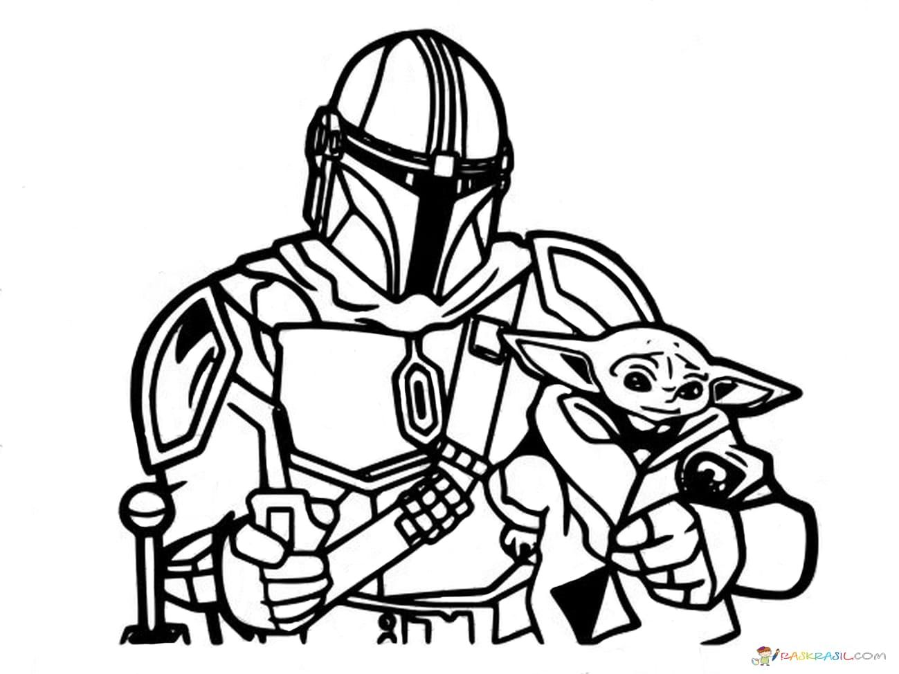 Download Or Print This Amazing Coloring Page Coloring Pages Baby Yoda The Mandalorian And Bab Coloring Pages Unique Coloring Pages Free Printable Paper Dolls