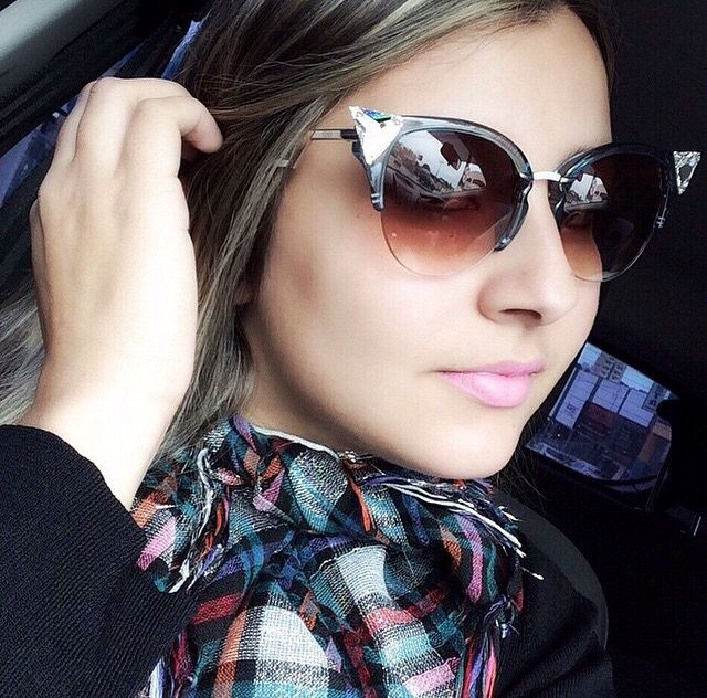 fafdb60407116 Fendi Iridia Cat-eye Crystal-tip Sunglasses