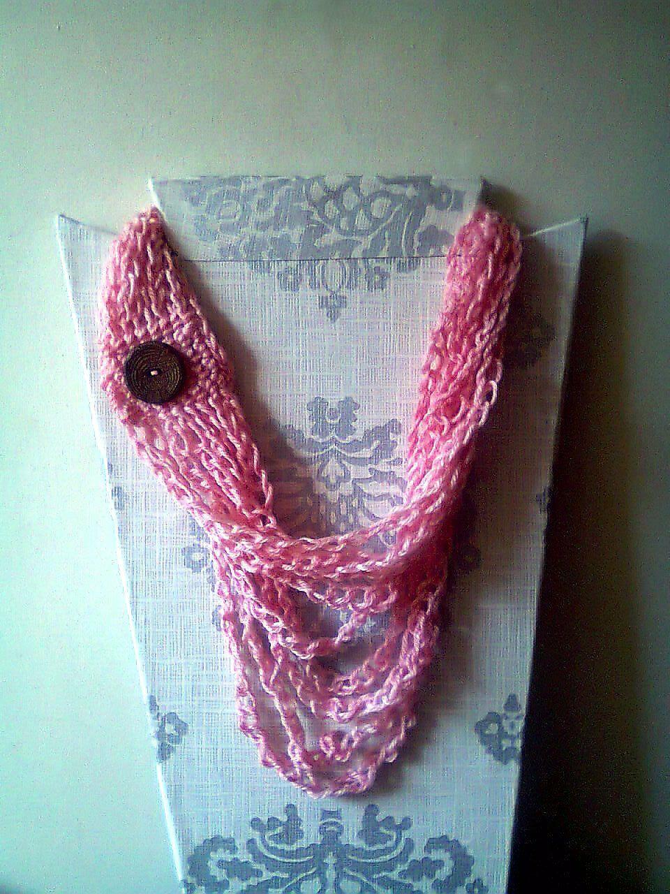 Collar #Tejido #Crochet | My wishlist | Pinterest | Collares tejidos ...