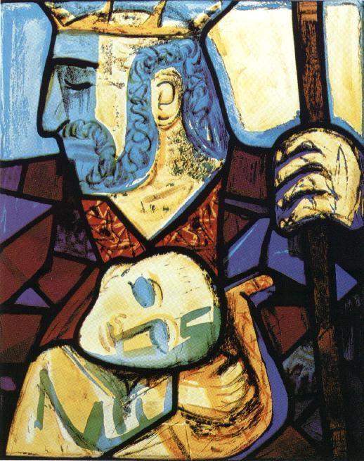 David y Saul (1959) Otto Dix