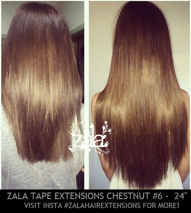 Zala tape hair extensions chestnut brown 6 24 inch need to 24 inch tape hair extensions by zala the highest quality tape in extensions you have ever used made from human remy hair pmusecretfo Images