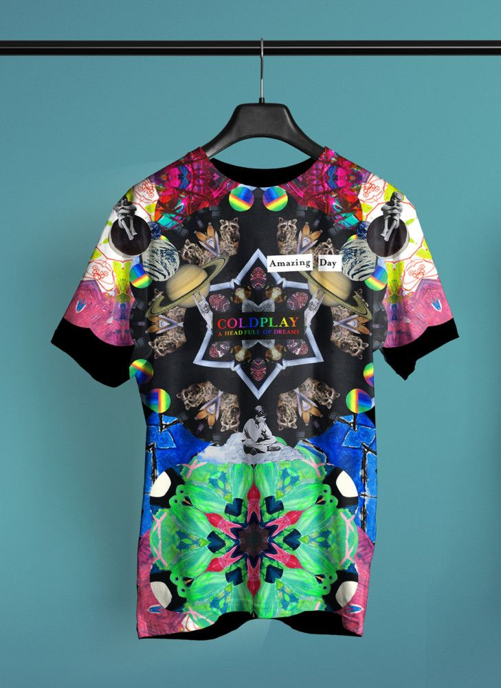 122eed432 Design a T-shirt for Coldplay | Coldplay | Coldplay, Coldplay shirts ...