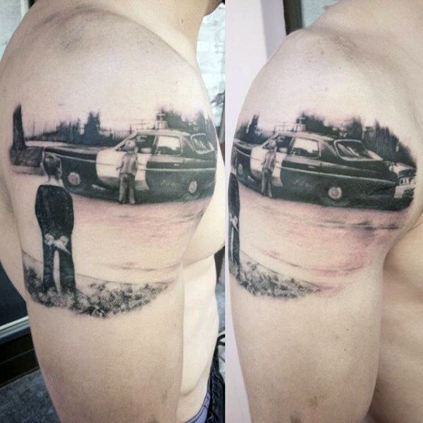 Top 47 Police Tattoo Ideas 2021 Inspiration Guide Police Tattoo Tattoos For Kids Tattoos