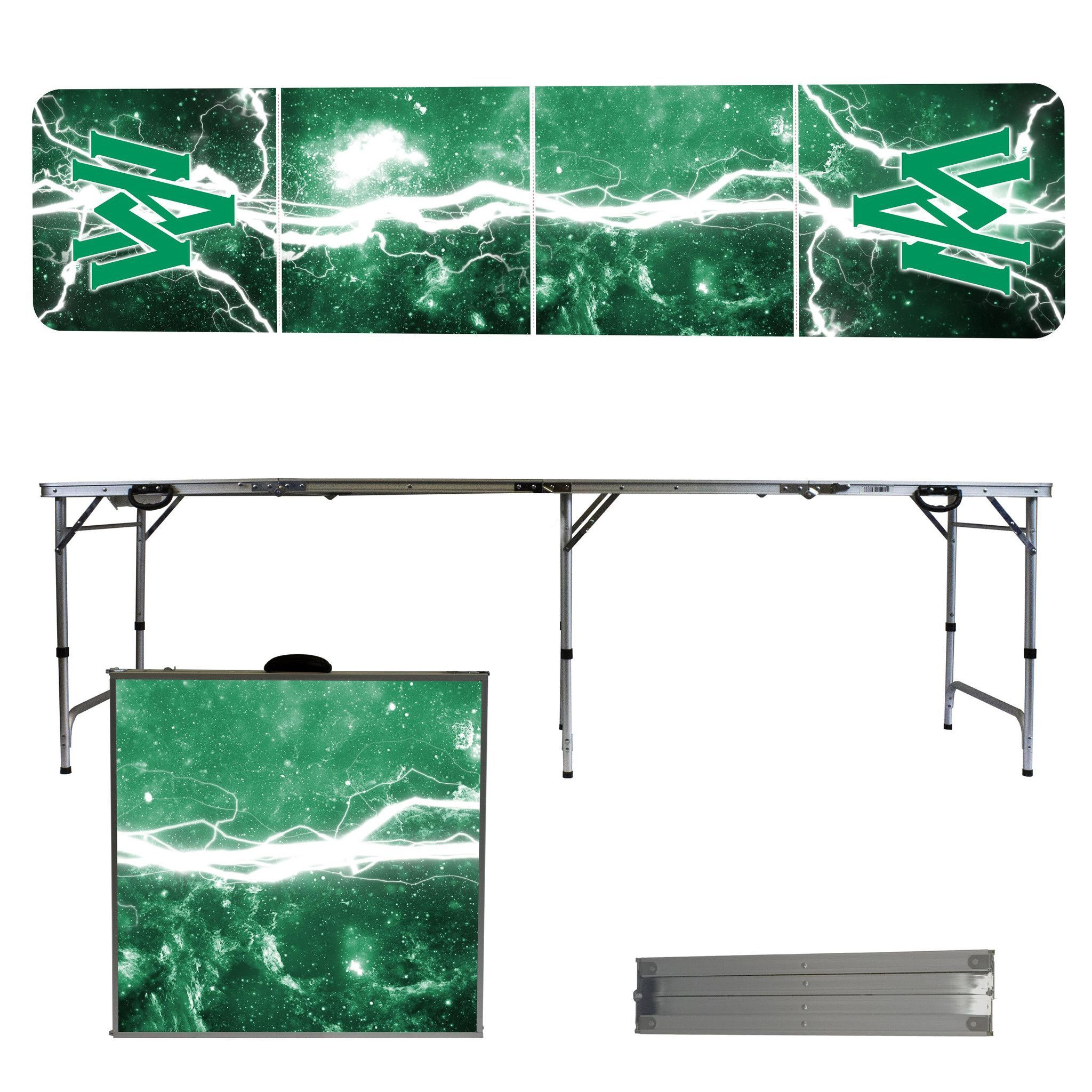 Arkansas Monticello Boll Weevils 8 Foot Portable Tailgate and Pong Table