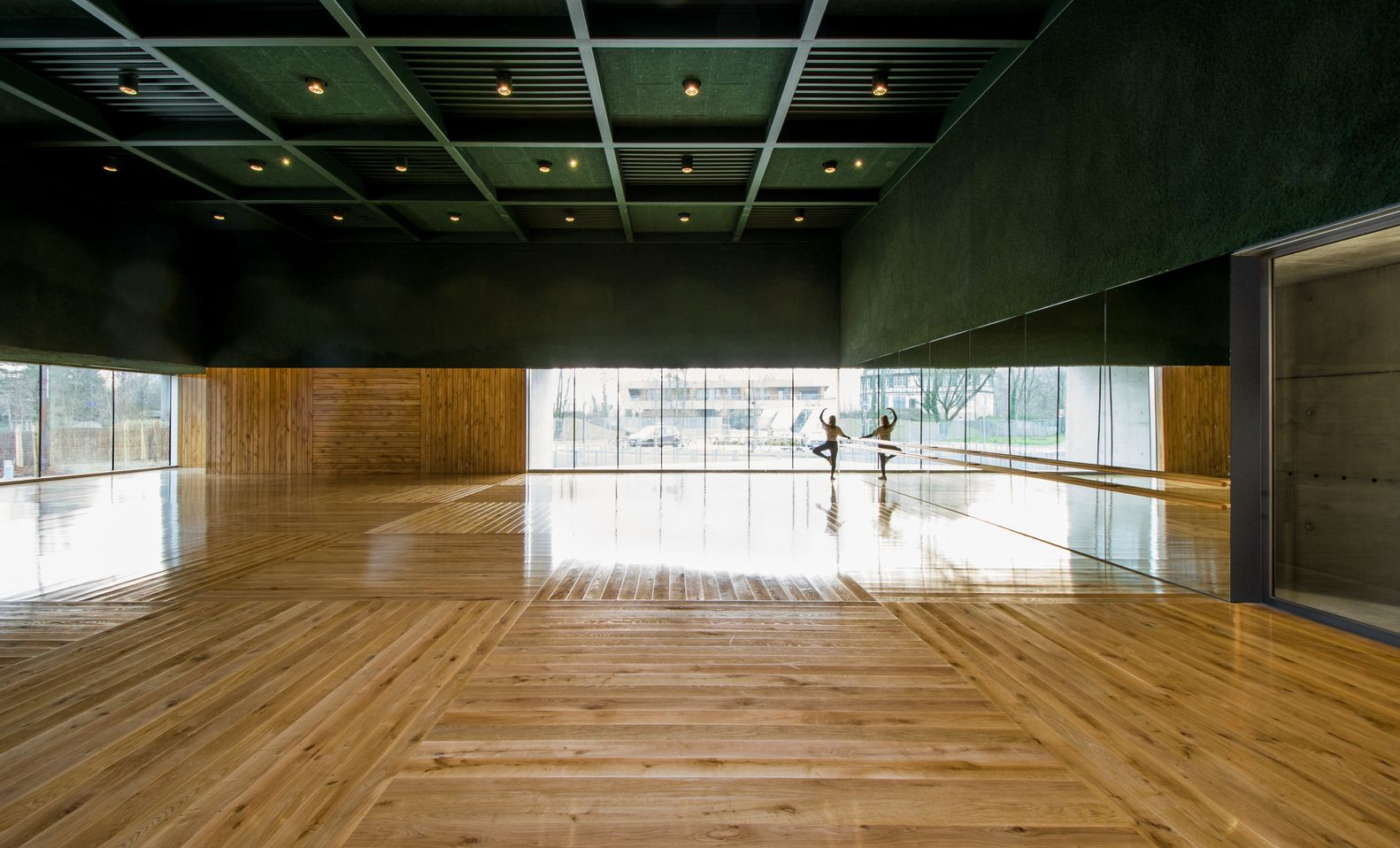 Gallery Of Human Rights Sports Center In Strasbourg Dominique Coulon Associes 25