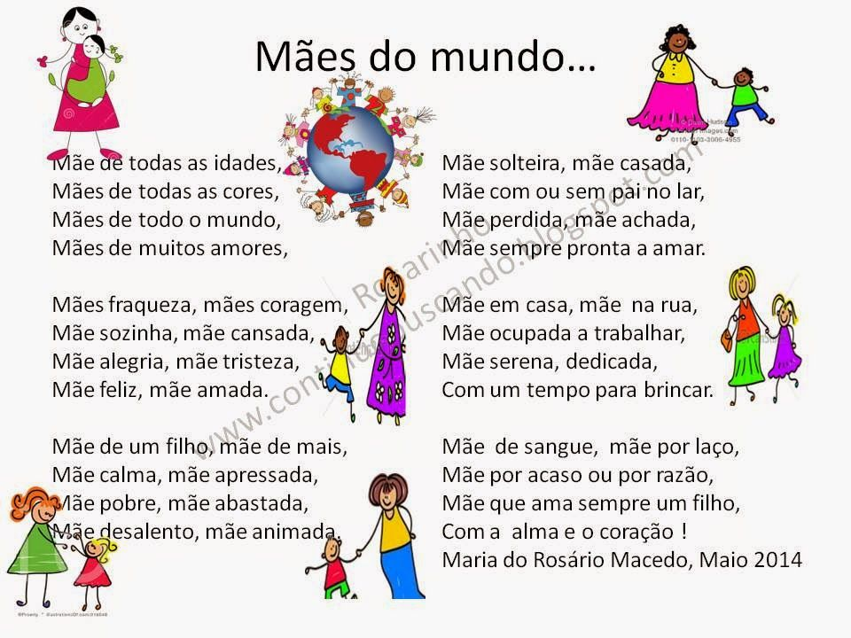 Maes Do Mundo Jpg 960 720 Com Imagens Poesia Dia Das Maes
