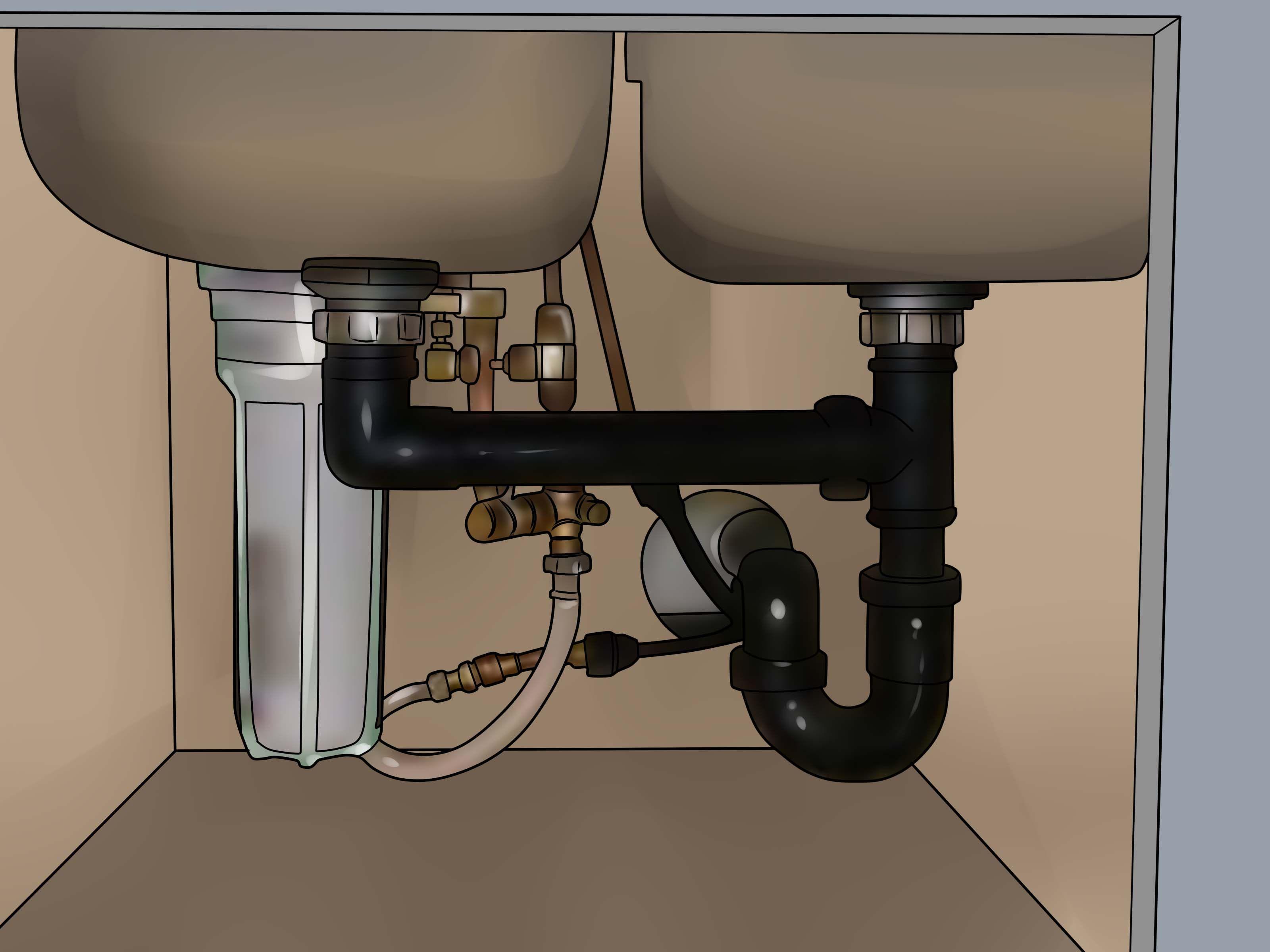 Dechlorinate water beams post and beam drinking water