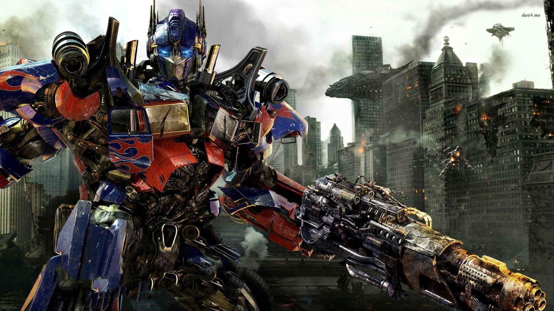 Optimus Prime Transformer Wallpaper