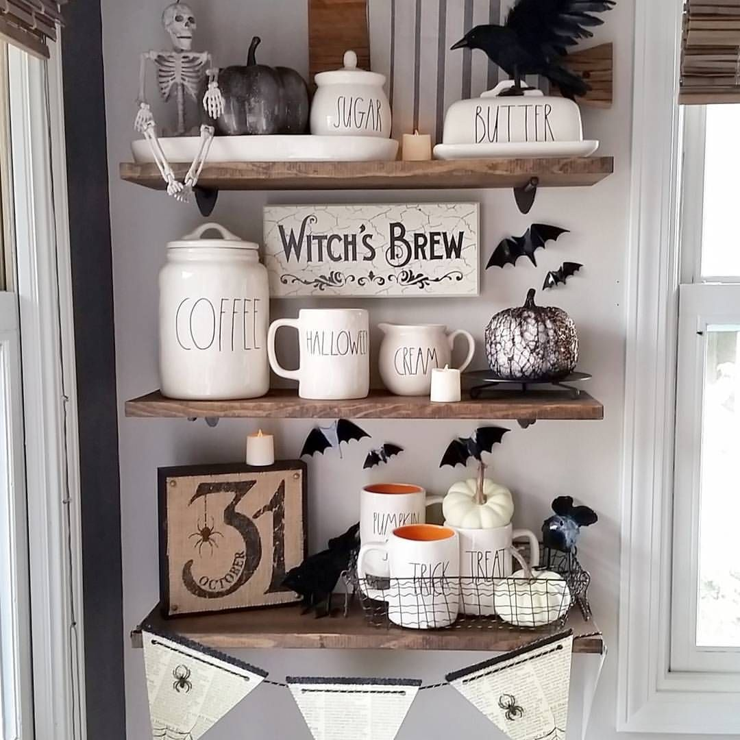 Home Interior • Halloween Décor In 2019