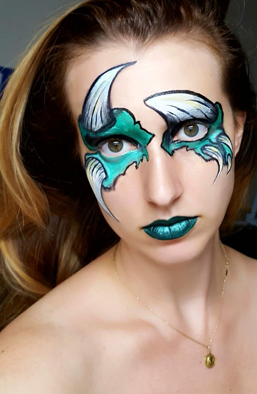 Pin by Noelle Perry on My Facepaint Face painting, Face