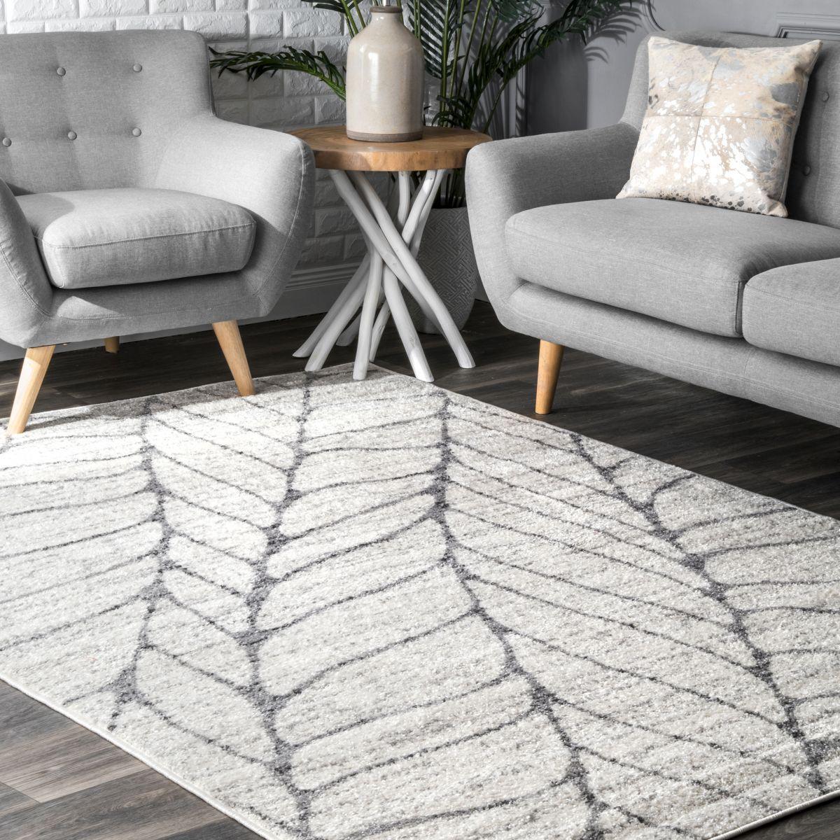 Christy Light Grey Cambridge Leaf Print Towel | Debenhams