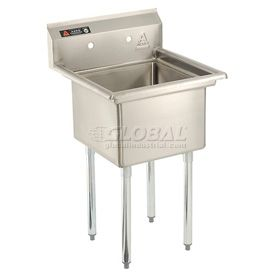 Stainless Steel Sink   One Bowl Sink 18 X 18, Aero Manufacturing $275