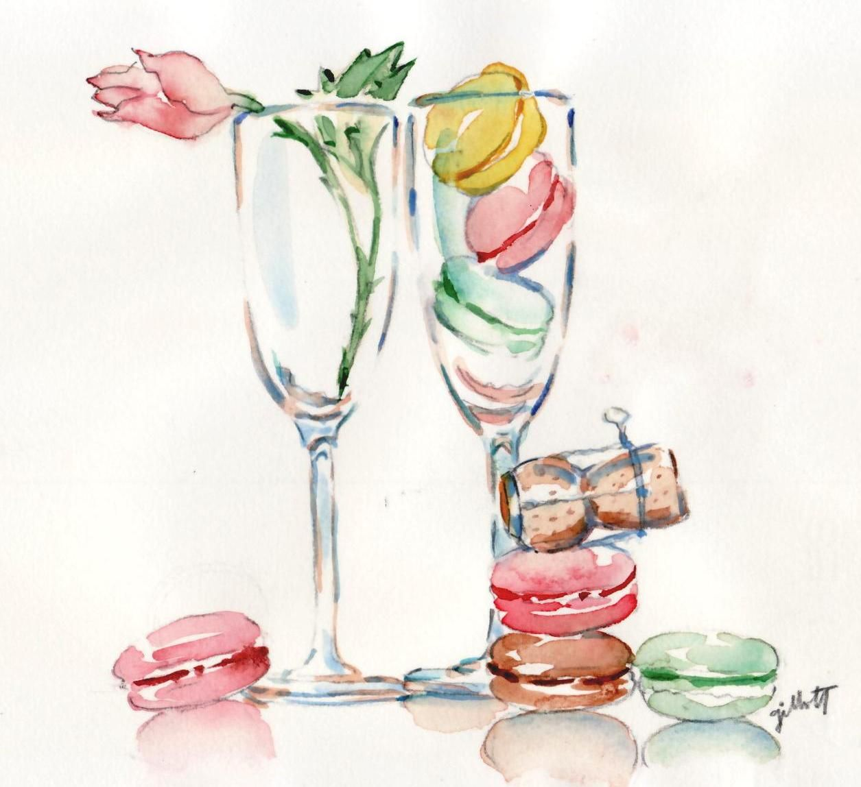 Champagne Glass O Macs Carol Gillott With Images Champagne