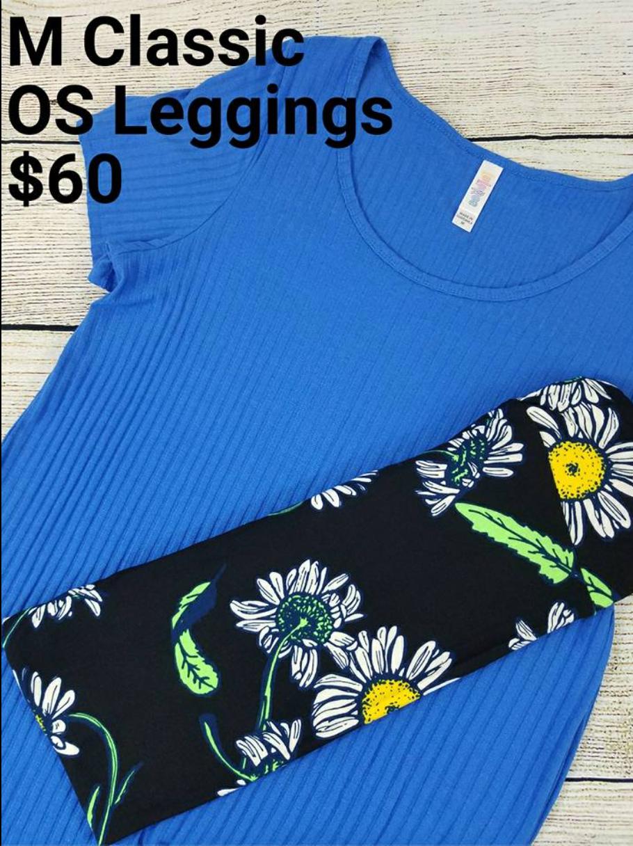 Lularoe Classic t and Leggings
