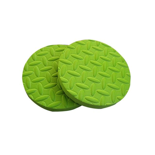 Round Yoga Knees Elbow Pad Foam Mat For Fitness Exercise Yoga Pad Mat Exercises Gym Mats