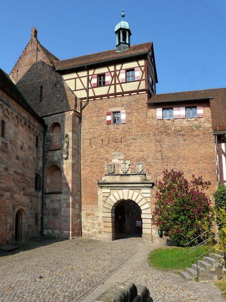 Kaiserburg Nurnberg Schlosser Deutschland Burg Gebaude