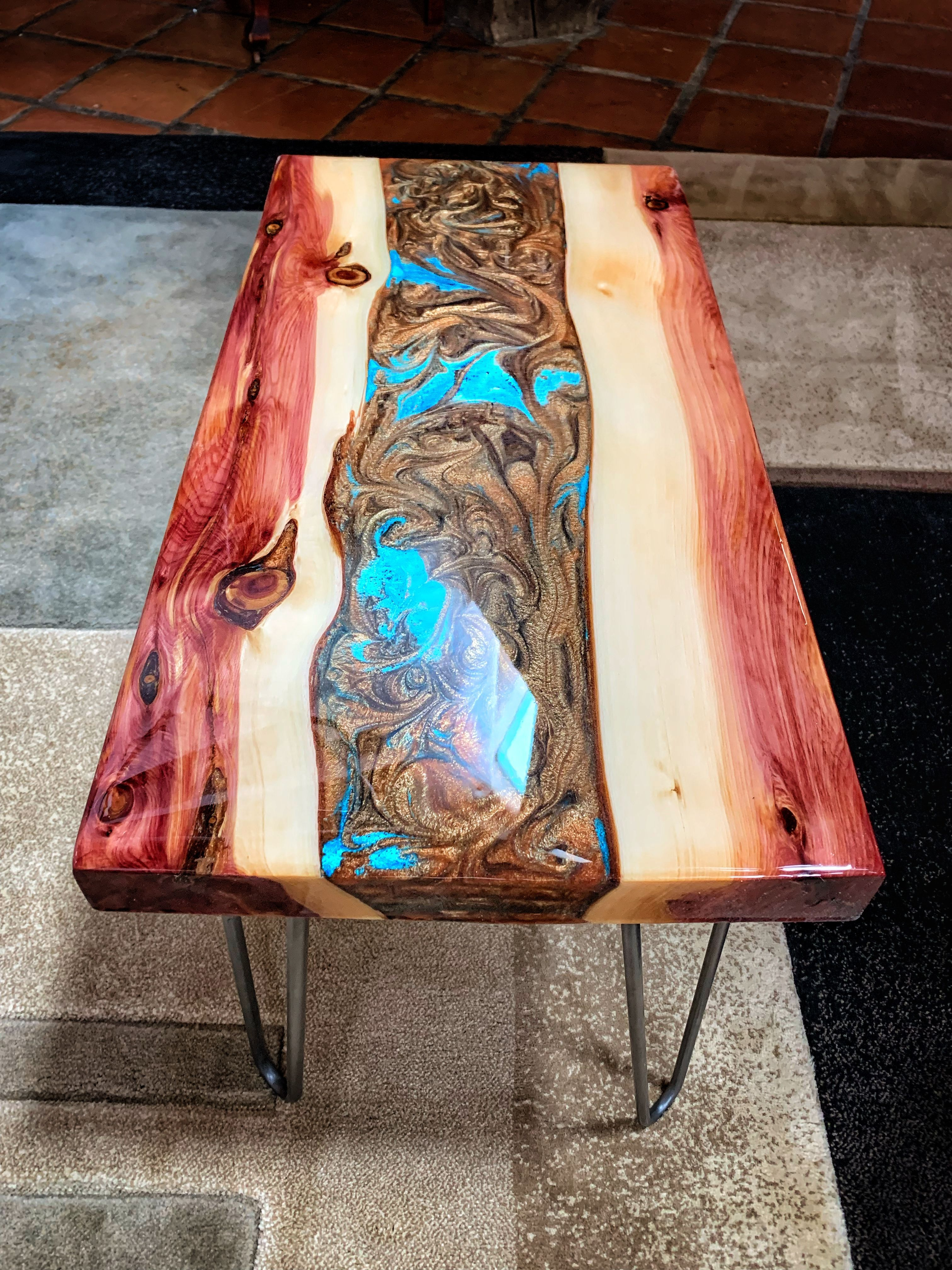 Diy Epoxy Resin Table Resin Furniture Epoxy Wood Table Resin Table