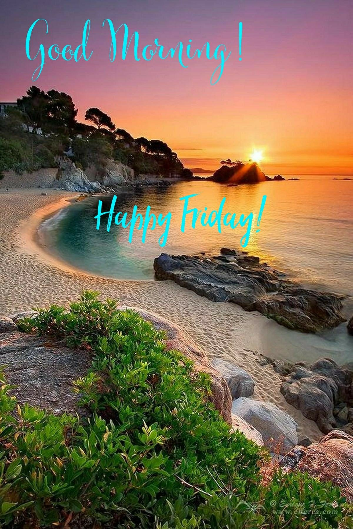 Good Morning Happy Friday The Most Beautiful Way To Start And End The Day Is With A Grateful H Beautiful Landscapes Beautiful Places Places Around The World