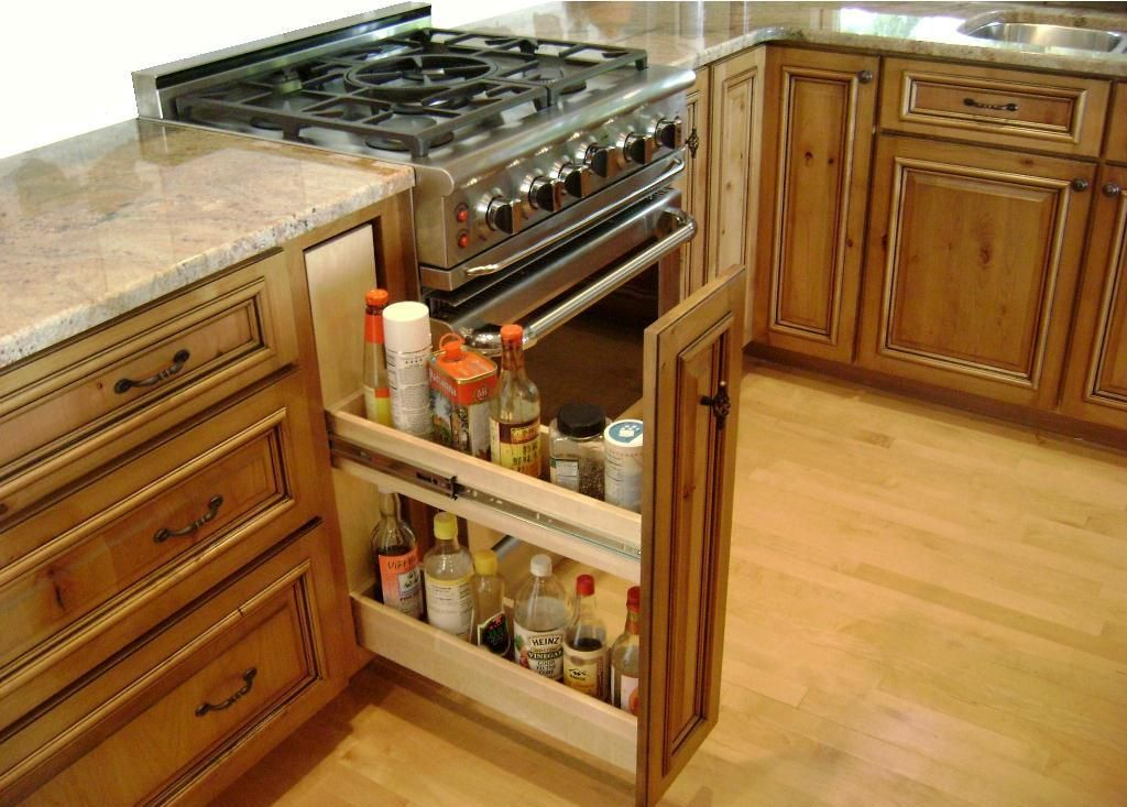 Corner kitchen cabinet ideas fascinating of kitchen for Kitchen closet ideas