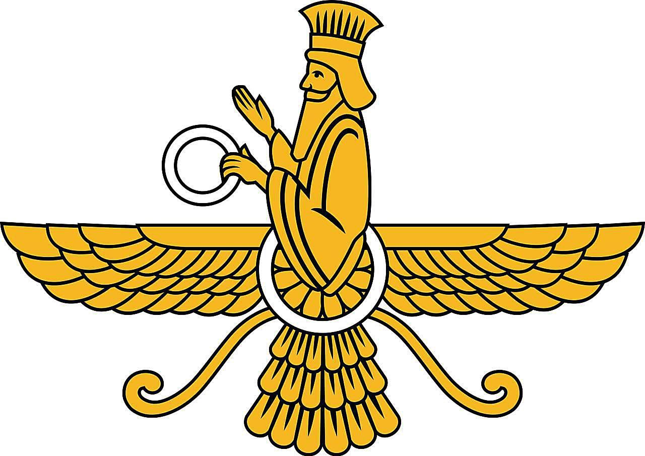 What Does The Winged Symbol Of Zoroastrianism Mean Thoughts