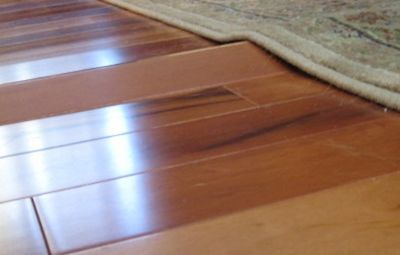 Buckled Wood Floor How To Fix The