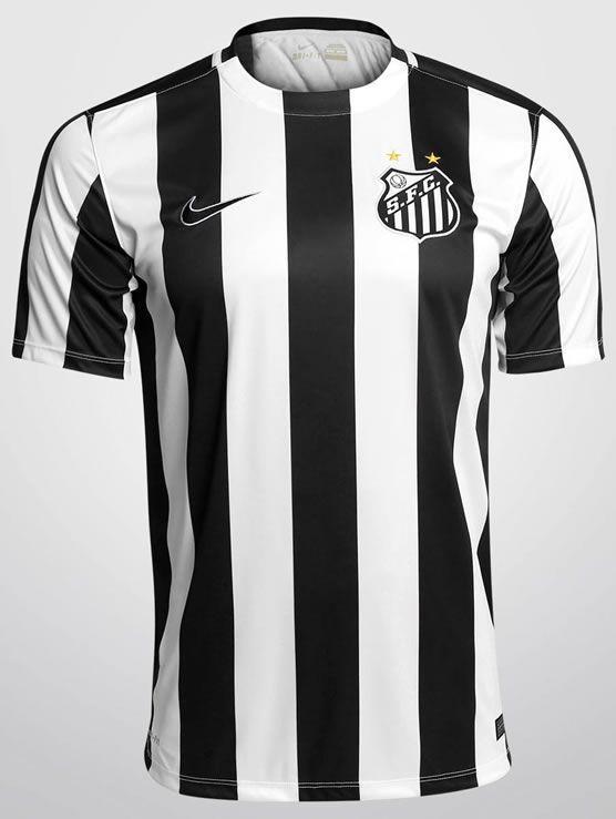 Santos FC. Away 2015 - 2016.  nike  brasil  259fab7061e