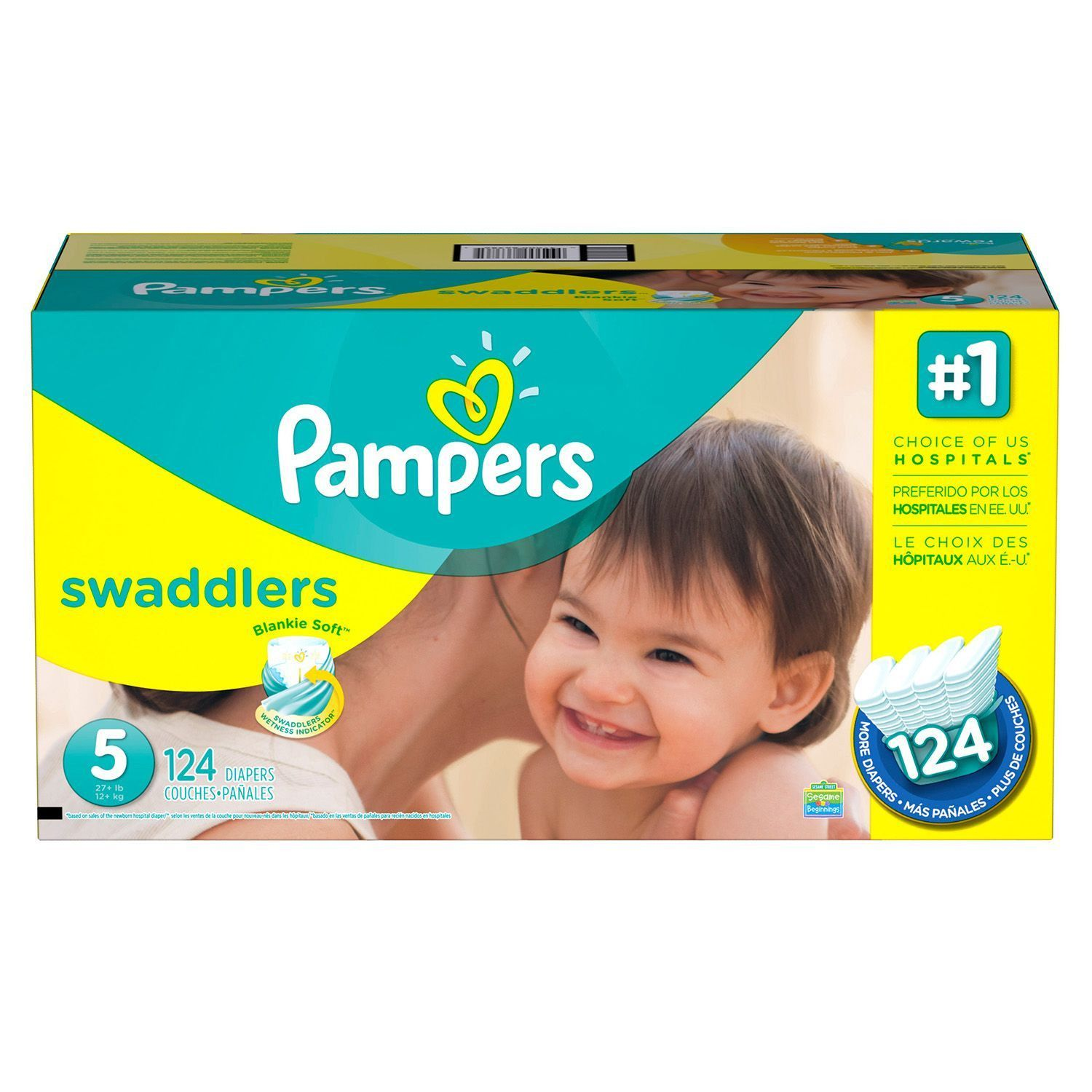 Pampers Swaddlers Diapers Economy Pack