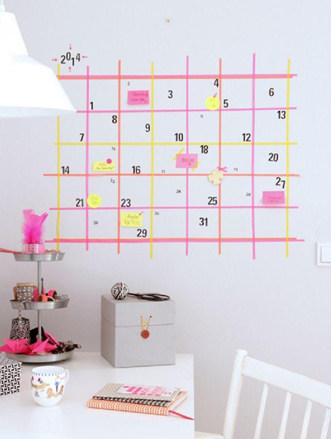 Super leuke dingen voor in je kamer - Google zoeken | Washi tape muur XH-55