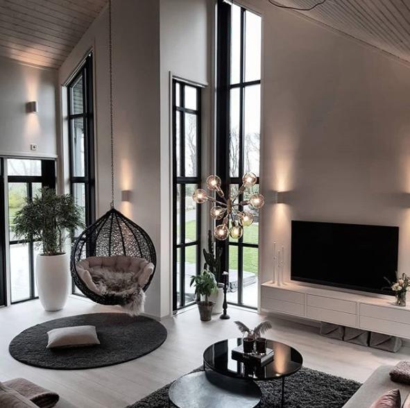 Stilvoll wohnen mit hohen Decken