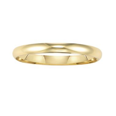 Best Value Wedding Band Womens 2mm 14k Gold Found At Jcpenney