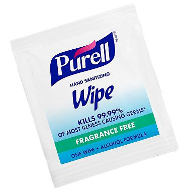 Purell Sanitizing Hand Wipes Individually Single Wrapped 300 Ct