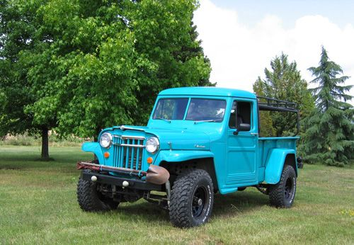 1952 Willys Pickup Truck - Photo submitted by Jack Fortner
