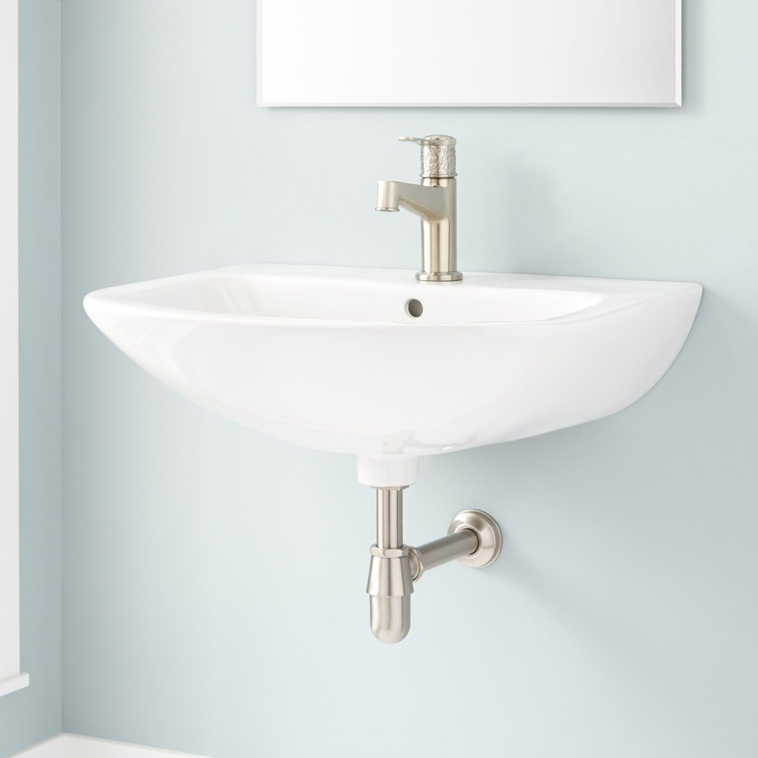 Yidby Porcelain Wall-Mount Sink - 4\