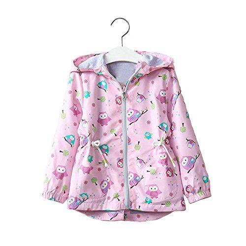 a1091d92a82d David Nadeau Girls Jacket Baby Girl Coat New Autumn Winter Kids ...