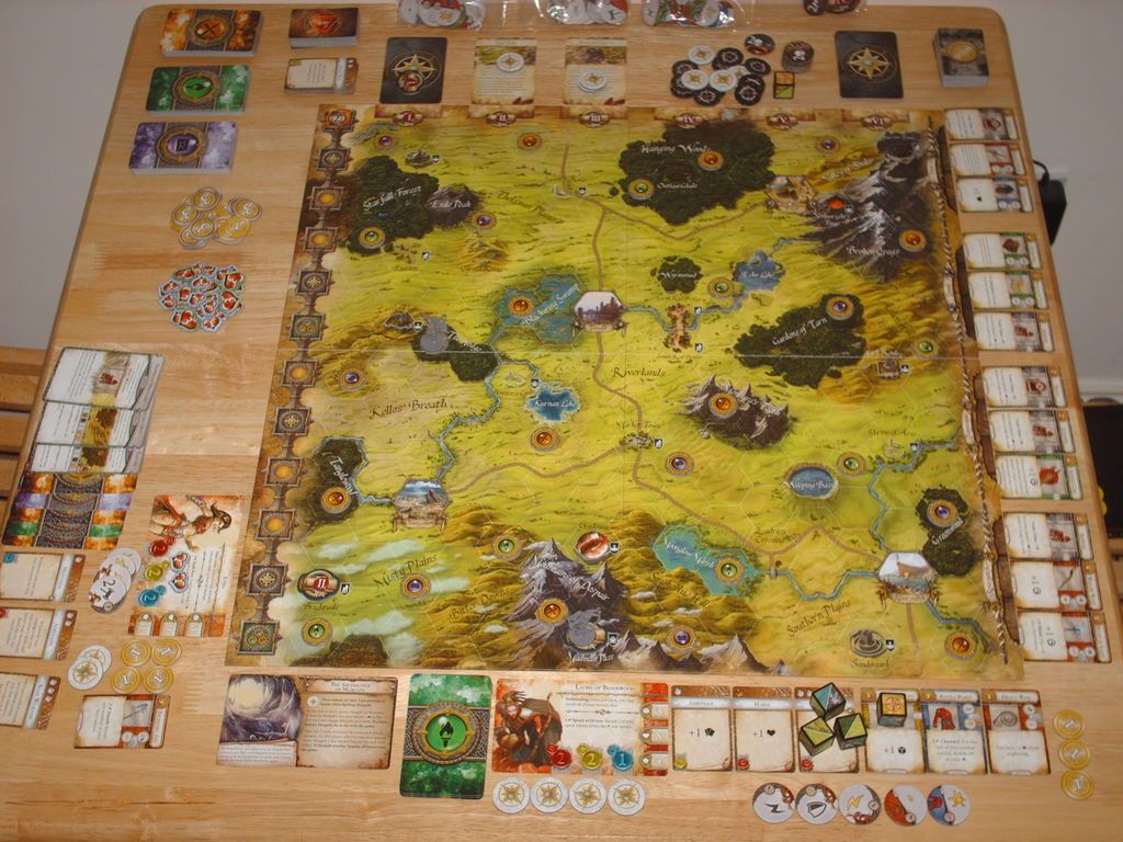 Runebound Third Edition Little Games Table Games Board Games