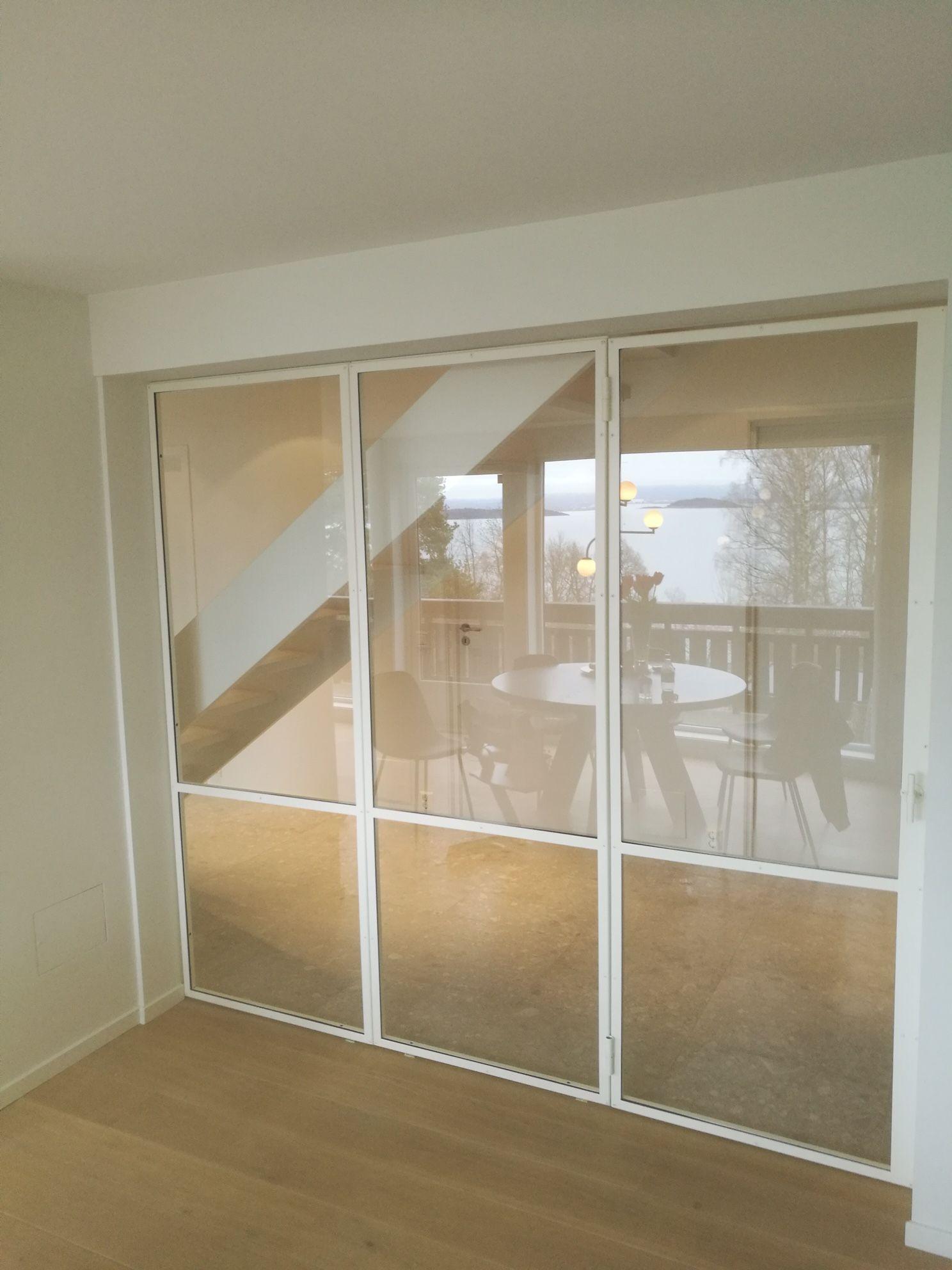 Glass wall / room divider / interior door / iron door / wrought iron / steel / metal and …
