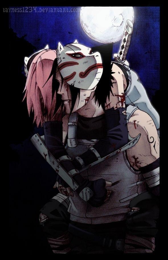 Photo of Sasuke and Sakura Photo: Sasusaku 4ever