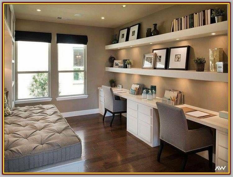 Most Popular Modern Home Office Design Ideas For Inspiration Modern Interior Design Contemporary Home Office Home Office Design Home Office Guest Room