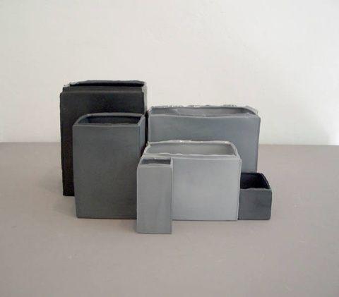 concrete objects / tableware. Design by  Alexa Lixfeld