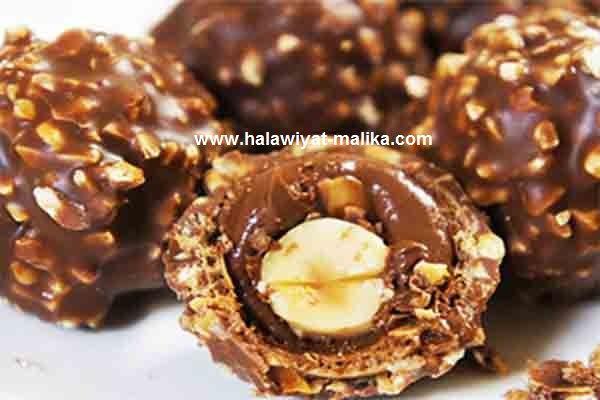 ferrero rocher فريرو روشيه سهل ورائع  Nutella recipes, Food, Recipes