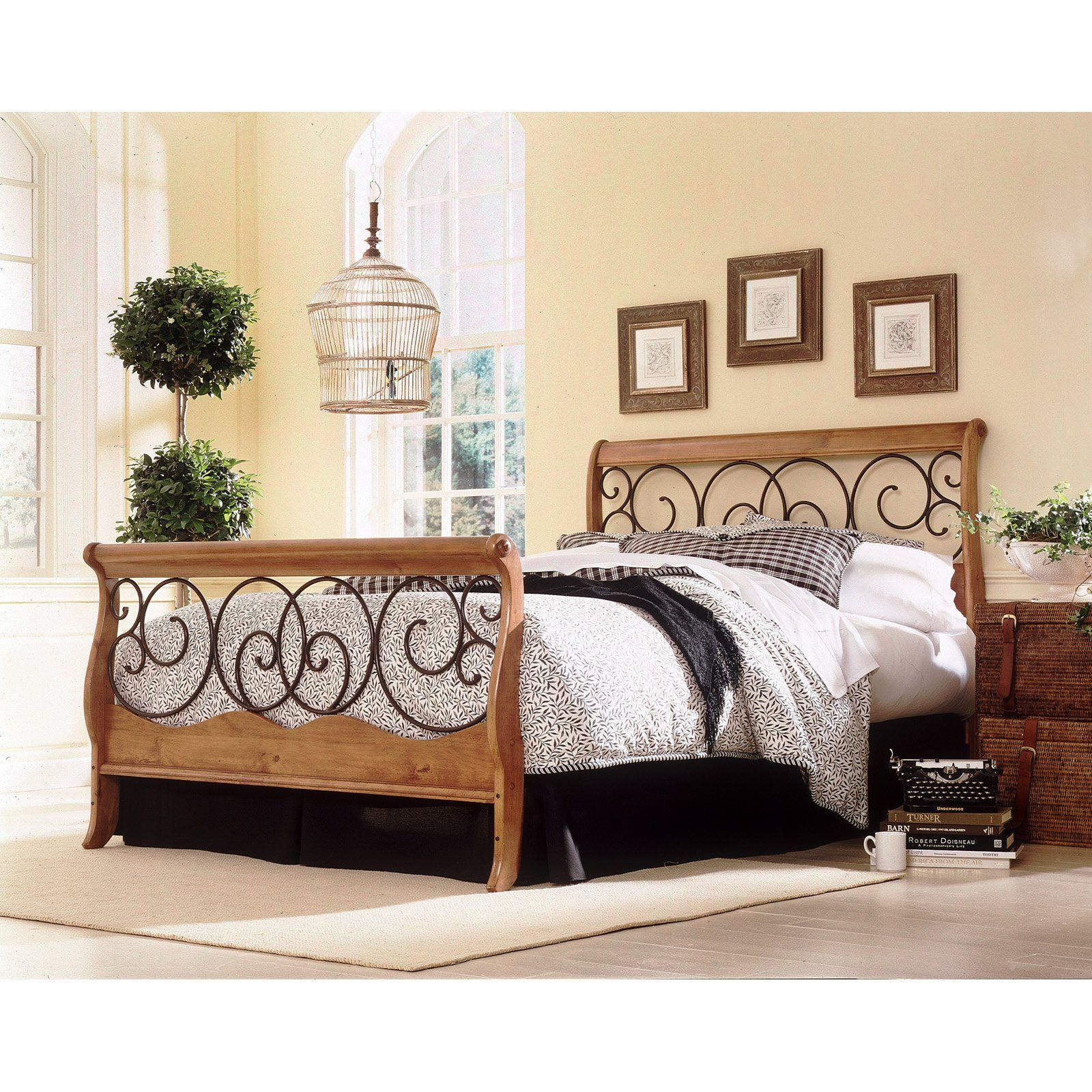 Have To Have It Dunhill Sleigh Bed 349 99 Hayneedle Bed